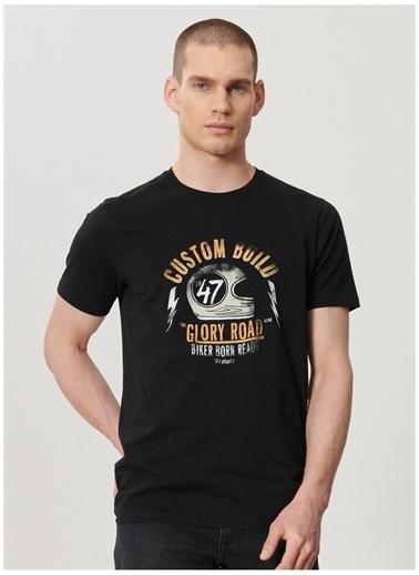 Wrangler Wrangler W211923001_Logo T-shirt  Siyah